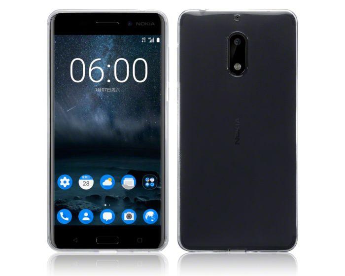 Terrapin Θήκη Σιλικόνης Slim Fit Silicone Case (118-001-229) Διάφανο (Nokia 6)