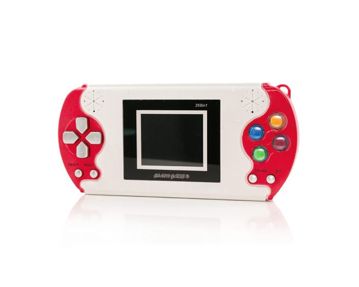 Digital Pocket Hand Console 268 Games (8630) Red