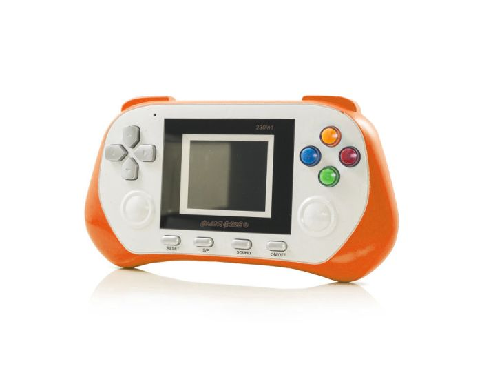 Digital Pocket Hand Console 268 Games (8639) Orange