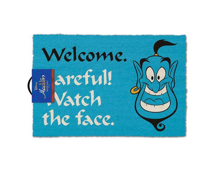 Disney Aladdin (Watch The Face) Door Mat - Πατάκι Εισόδου 40x60cm