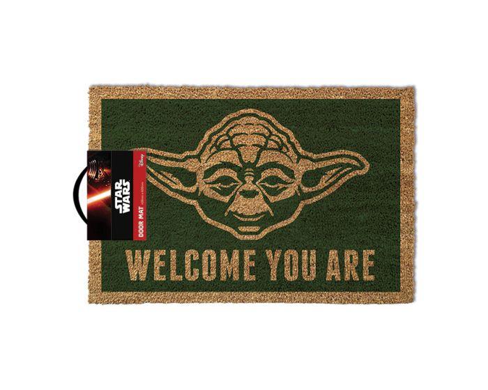 Star Wars (Yoda) Door Mat - Πατάκι Εισόδου 40x60cm