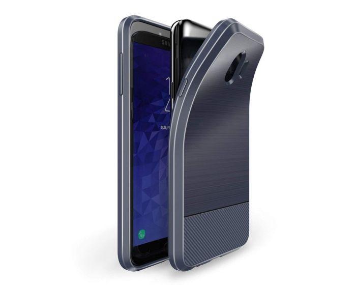 Dux Ducis Mojo Carbon Rugged Armor Case Dark Blue (Samsung Galaxy J4 2018)