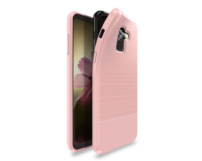 Dux Ducis Mojo Carbon Rugged Armor Case Rose Gold (Samsung Galaxy A8 Plus 2018)