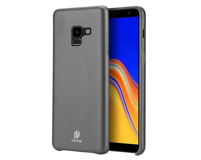 DUX DUCIS Skin Lite PU Leather Back Cover Case - Black (Samsung Galaxy A8 Plus 2018)