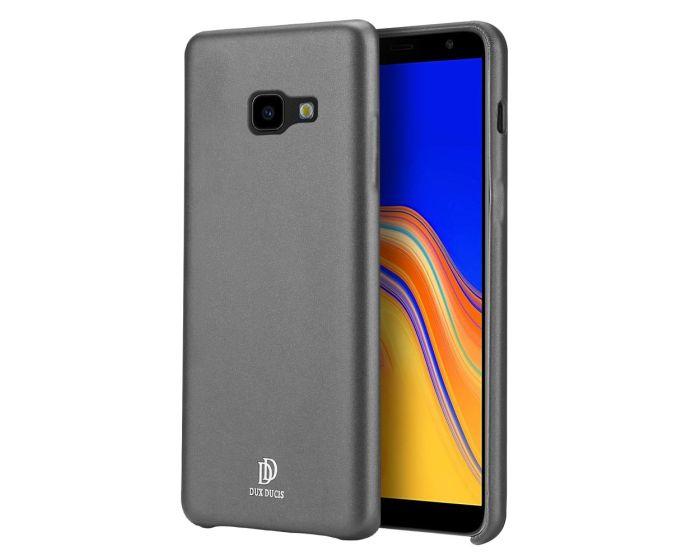 DUX DUCIS Skin Lite PU Leather Back Cover Case - Black (Samsung Galaxy J4 Plus 2018)