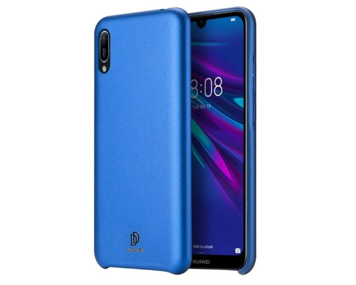 DUX DUCIS Skin Lite PU Leather Back Cover Case - Blue (Huawei Y6 2019)