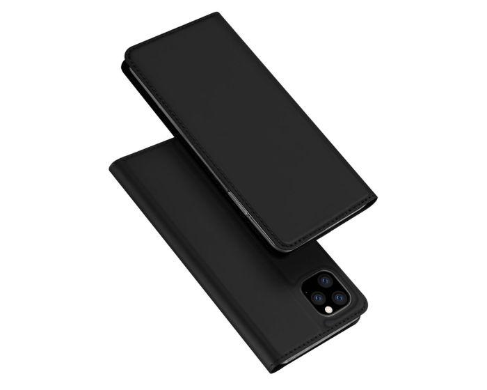 DUX DUCIS SkinPro Wallet Case Θήκη Πορτοφόλι με Stand - Black (Huawei Y5P / Honor 9s)
