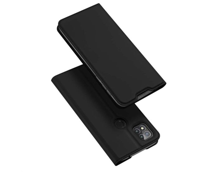 DUX DUCIS SkinPro Wallet Case Θήκη Πορτοφόλι με Stand - Black (Xiaomi Redmi 9C)