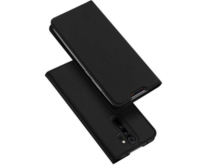 DUX DUCIS SkinPro Wallet Case Θήκη Πορτοφόλι με Stand - Black (Xiaomi Redmi Note 8 Pro)