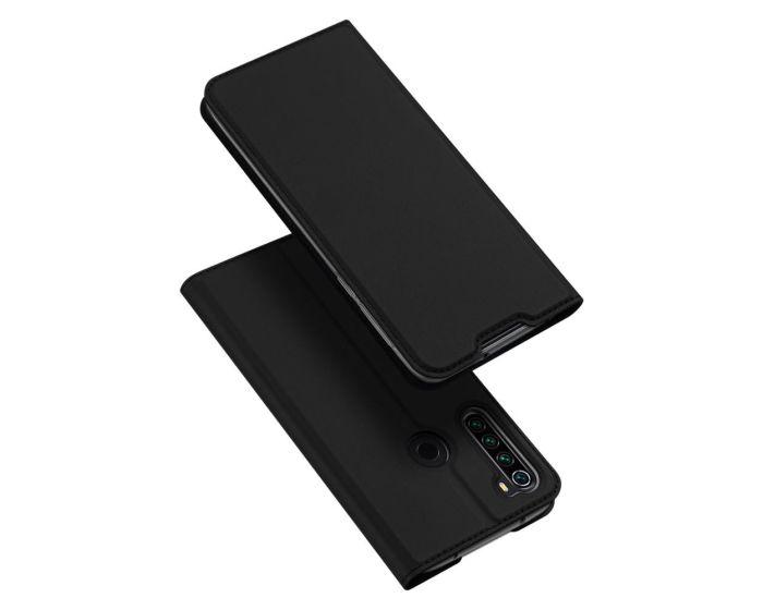 DUX DUCIS SkinPro Wallet Case Θήκη Πορτοφόλι με Stand - Black (Xiaomi Redmi Note 8T)