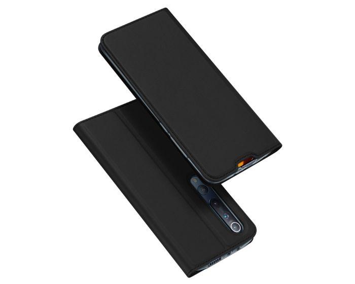 DUX DUCIS SkinPro Wallet Case Θήκη Πορτοφόλι με Stand - Black (Xiaomi Mi 10 / Mi 10 Pro)