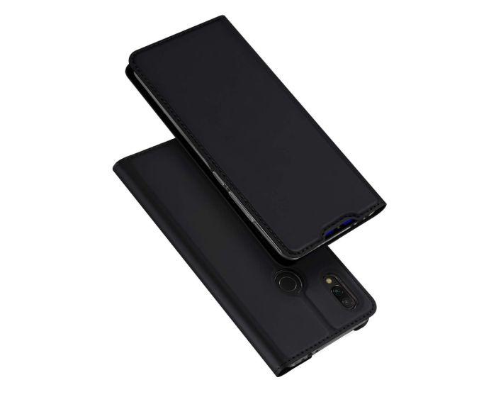 DUX DUCIS SkinPro Wallet Case Θήκη Πορτοφόλι με Stand - Black (Xiaomi Redmi 7)
