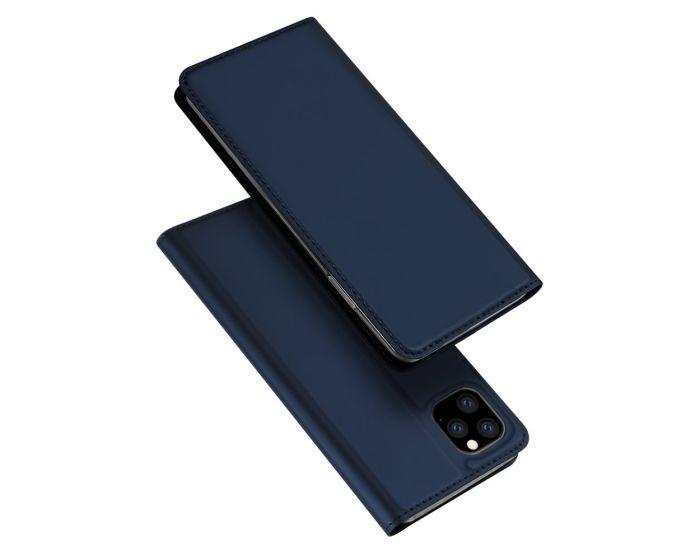 DUX DUCIS SkinPro Wallet Case Θήκη Πορτοφόλι με Stand - Navy Blue (Huawei Y5P / Honor 9s)