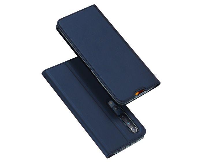 DUX DUCIS SkinPro Wallet Case Θήκη Πορτοφόλι με Stand - Navy Blue (Xiaomi Mi 10 / Mi 10 Pro)