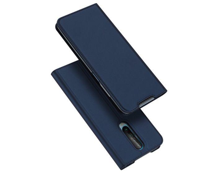 DUX DUCIS SkinPro Wallet Case Θήκη Πορτοφόλι με Stand - Navy Blue (Xiaomi Redmi K30)