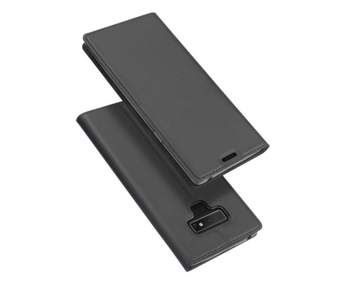 DUX DUCIS SkinPro Wallet Case Θήκη Πορτοφόλι με Δυνατότητα Stand - Gray (Samsung Galaxy Note 9)