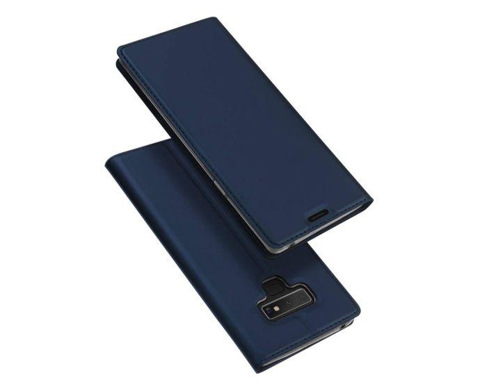 DUX DUCIS SkinPro Wallet Case Θήκη Πορτοφόλι με Δυνατότητα Stand - Navy Blue (Samsung Galaxy Note 9)