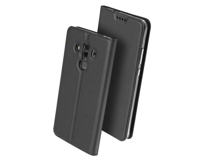 DUX DUCIS SkinPro Wallet Case Θήκη Πορτοφόλι με Δυνατότητα Stand - Gray (Huawei Mate 10 Pro)