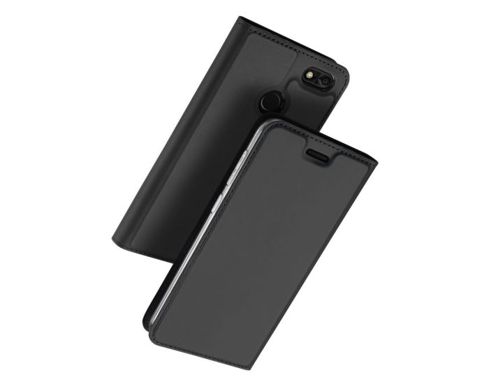 DUX DUCIS SkinPro Wallet Case με Δυνατότητα Stand - Gray (Huawei P9 Lite Mini)