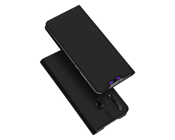 DUX DUCIS SkinPro Wallet Case Θήκη Πορτοφόλι με Stand - Black (Honor 20 Lite)