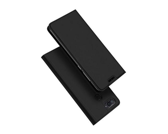 DUX DUCIS SkinPro Wallet Case Θήκη Πορτοφόλι με Δυνατότητα Stand - Black (Xiaomi Mi8 Lite)