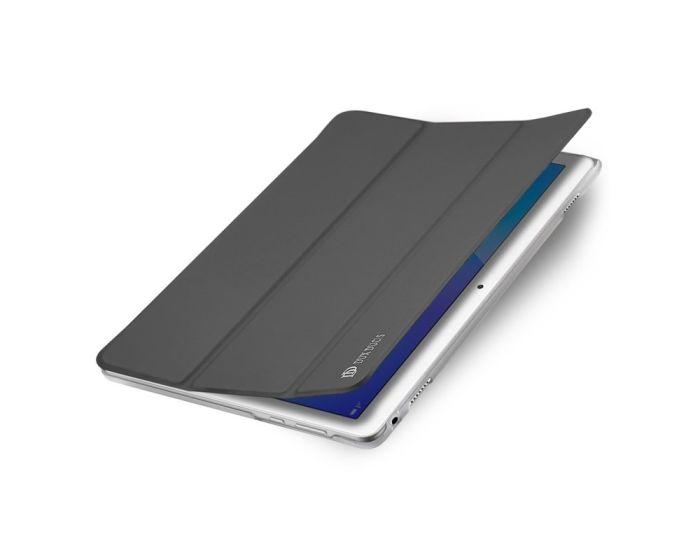 DUX DUCIS SkinPro Smart Book Case Θήκη με Δυνατότητα Stand - Gray (Huawei MediaPad M3 Lite 10.1'')