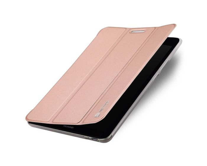 DUX DUCIS SkinPro Smart Book Case Θήκη με Δυνατότητα Stand - Rose Gold (Huawei MediaPad T3 8.0'')