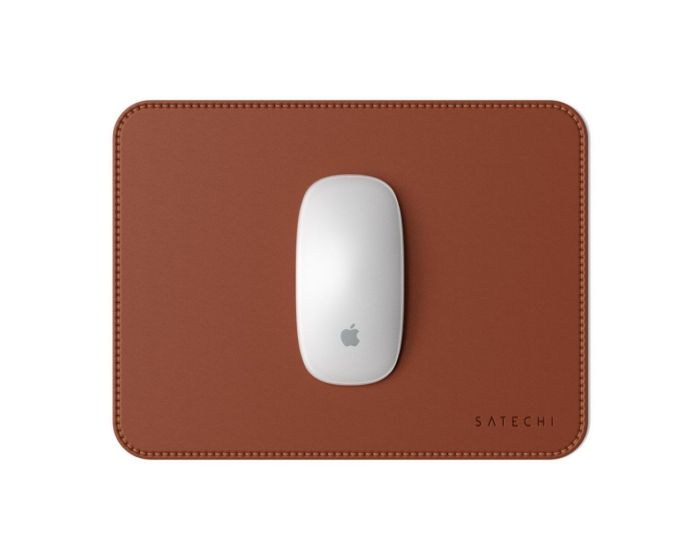 SATECHI Eco Leather Mouse Pad - Brown