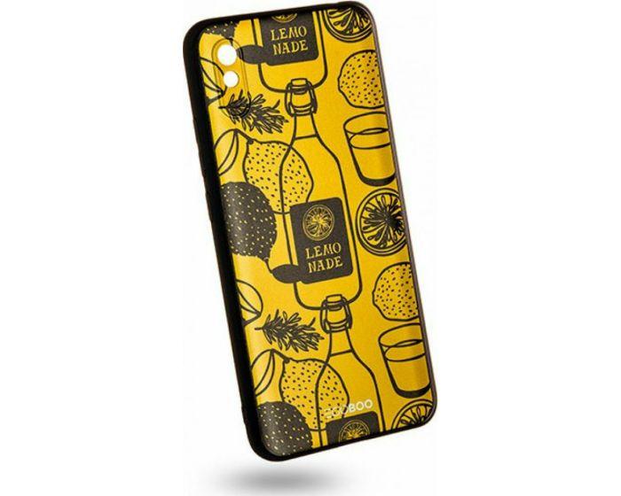 EGOBOO Mat TPU Back Cover Θήκη Σιλικόνης Lemonade (Xiaomi Redmi 9A / 9AT)