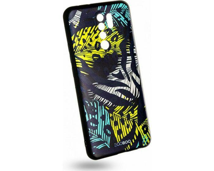 EGOBOO Mat TPU Back Cover Θήκη Σιλικόνης Leopard (Xiaomi Redmi 9)