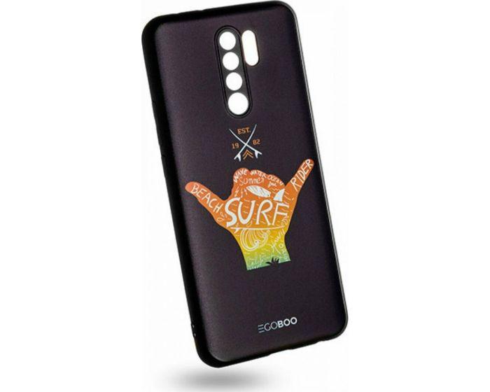 EGOBOO Mat TPU Back Cover Θήκη Σιλικόνης Surf (Xiaomi Redmi 9)