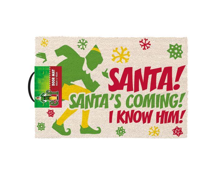 Elf (Santa's Coming) Door Mat - Πατάκι Εισόδου 40x60cm