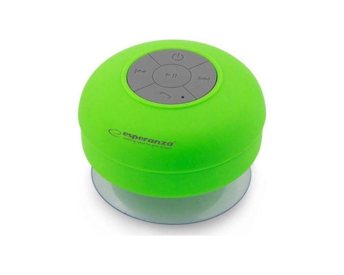 Esperanza Sprinkle Bluetooth Mini Speaker IPX4 Φορητό Ηχείο 3W Green