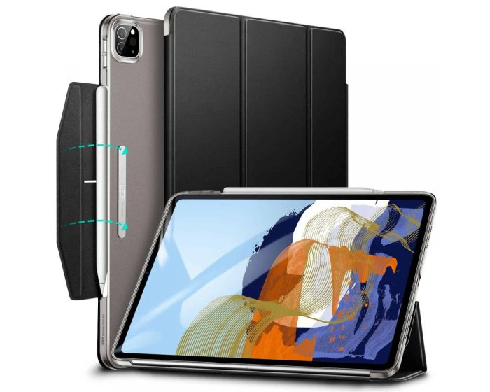 ESR Ascend Trifold Case με δυνατότητα Stand - Jelly Black (iPad Pro 11'' 2020 / 2021)