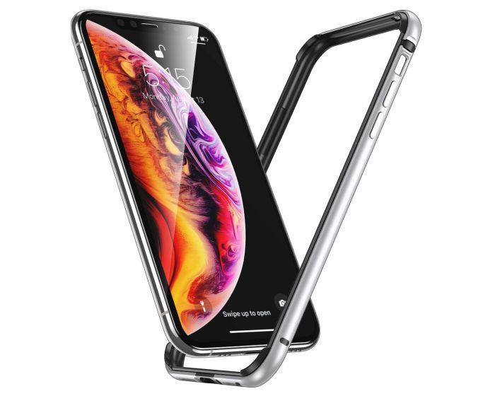 ESR Edge Guard Aluminum Bumper Silver (iPhone 11 Pro Max)
