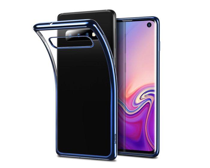 ESR Essential Slim Fit TPU Case (X00202KU1L) Θήκη Σιλικόνης Clear / Blue (Samsung Galaxy S10)