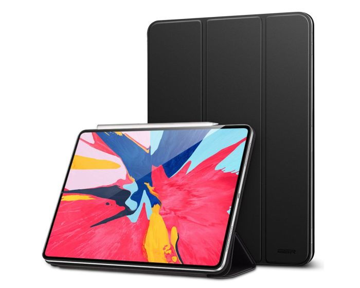ESR Magnetic Yippee Smart Cover Stand Case - Black (iPad Pro 12.9'' 2018)