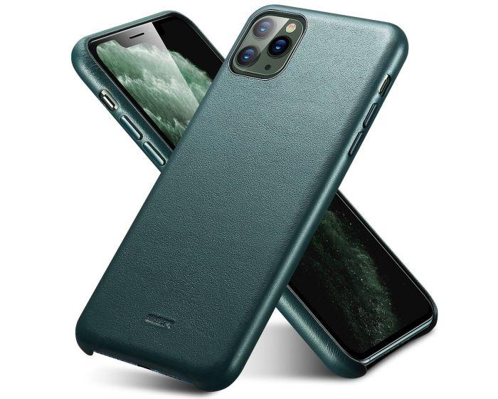 ESR Metro Leather Case Δερμάτινη Θήκη Pine Green (iPhone 11 Pro Max)