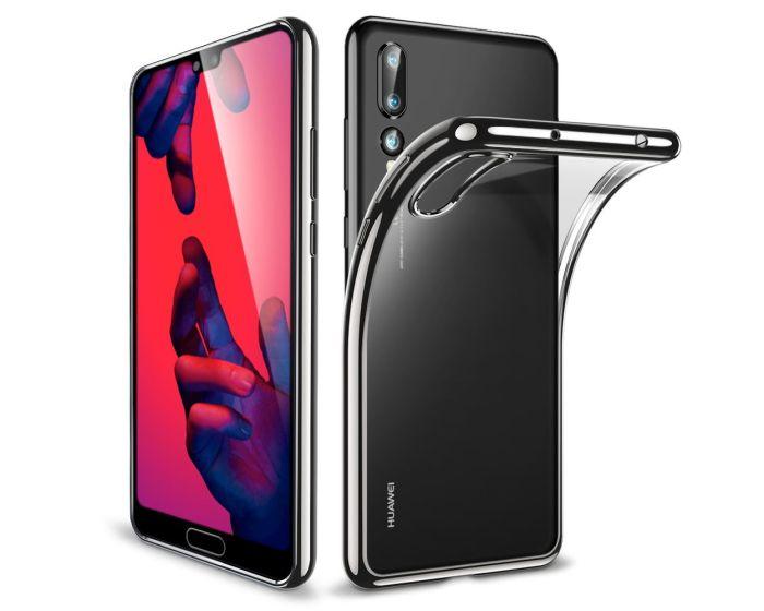 ESR Essential Slim Fit TPU Case Θήκη Σιλικόνης Clear / Black (Huawei P20 Pro)