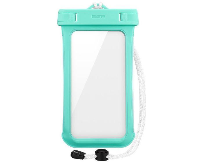 ESR Universal Waterproof Phone Case - Αδιάβροχη Θήκη για Κινητά έως 6'' (4894240043998) Mint