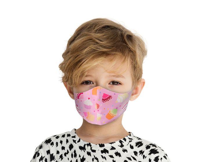 Face Mask for Kids Παιδική Προστατευτική Μάσκα Προσώπου - Cookies