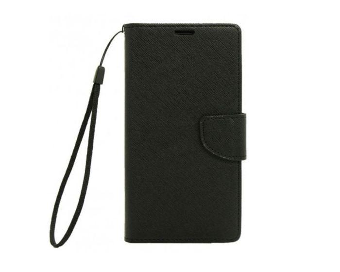 Tel1 Fancy Diary Case Θήκη Πορτοφόλι με δυνατότητα Stand Black (Samsung Galaxy S3 / S3 Neo)