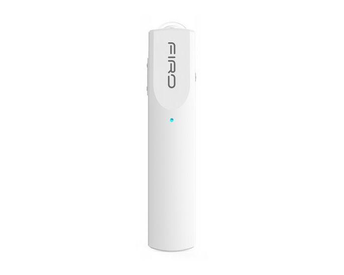 Firo M717-WH Bluetooth Selfie Headset με δυνατότητα Σύνδεσης με έως 2 Συσκευές - Λευκό