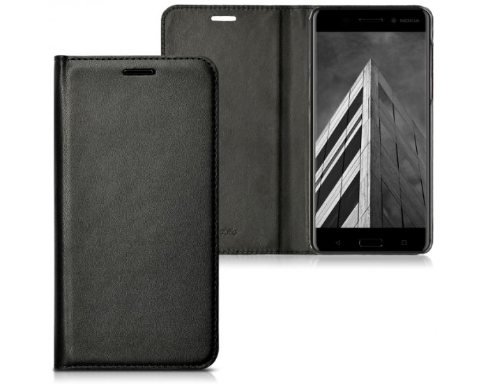 KWmobile Θήκη Flip Case (41100.01) Black (Nokia 6)