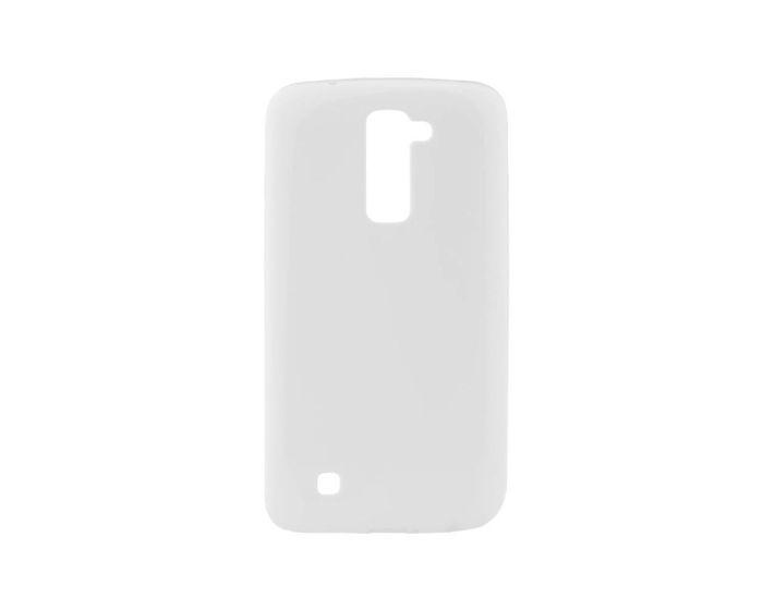 Forcell Jelly Flash Slim Fit Case Θήκη Gel White (LG K8)