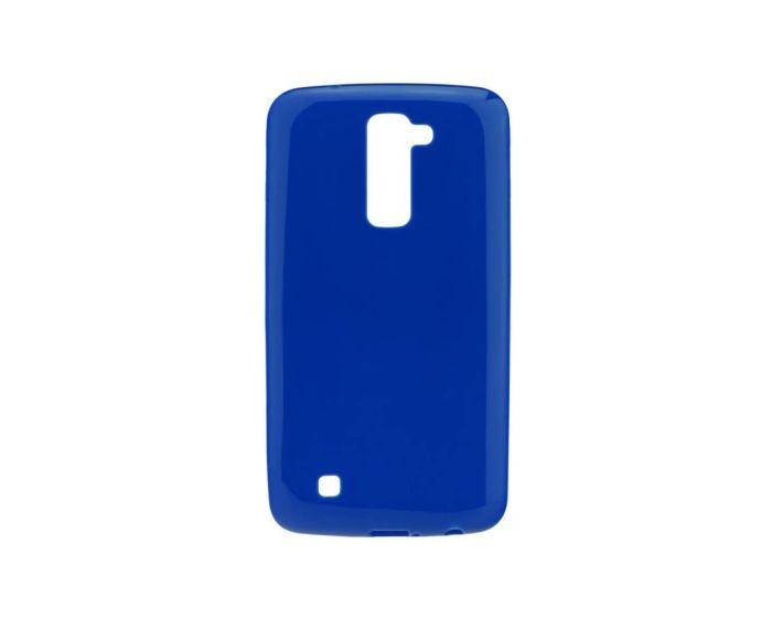 Forcell Jelly Flash Slim Fit Case Θήκη Gel Blue (LG K8)