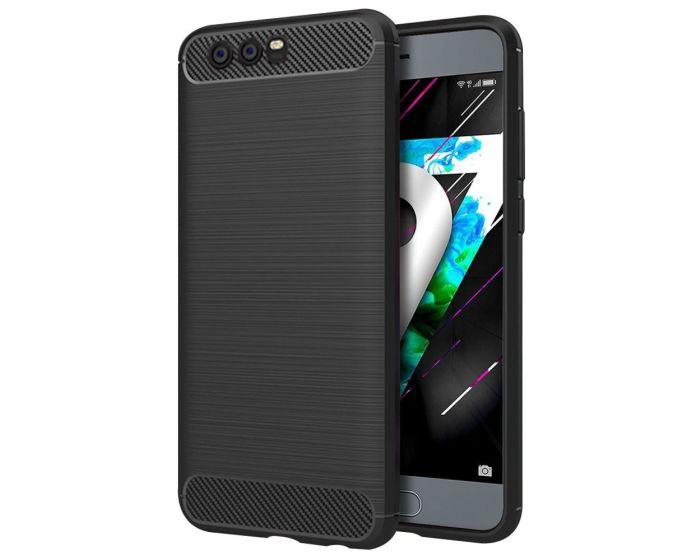 TPU Carbon Rugged Armor Case Black (Huawei Honor 9)