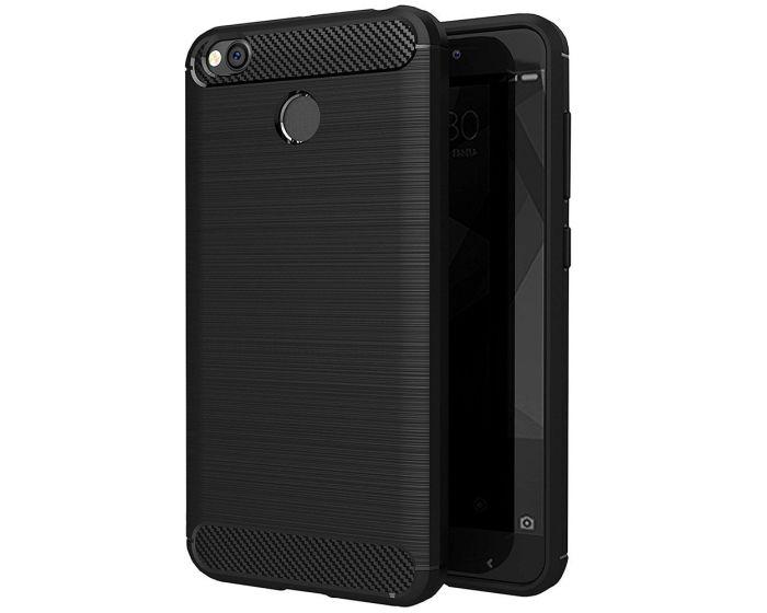TPU Carbon Rugged Armor Case Black (Xiaomi Redmi Note 5A / Note 5A Prime)