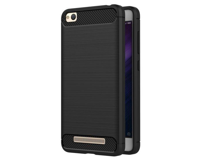 TPU Carbon Rugged Armor Case Black (Xiaomi Redmi 4A)