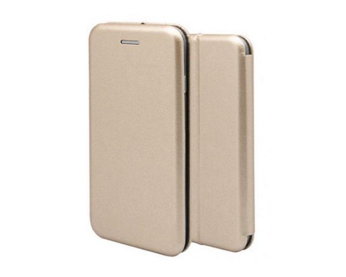 Forcell Elegance Book Case με Δυνατότητα Στήριξης - Gold (Xiaomi Redmi Note 5A Prime)